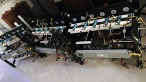 تولید انبوه شاسی ریگ ماینینگ کوین ابزرا