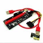 رایزر گرافیک تبدیل PCI EXPRESS X1 به X16 مدل 009s Black رنگ مشکی